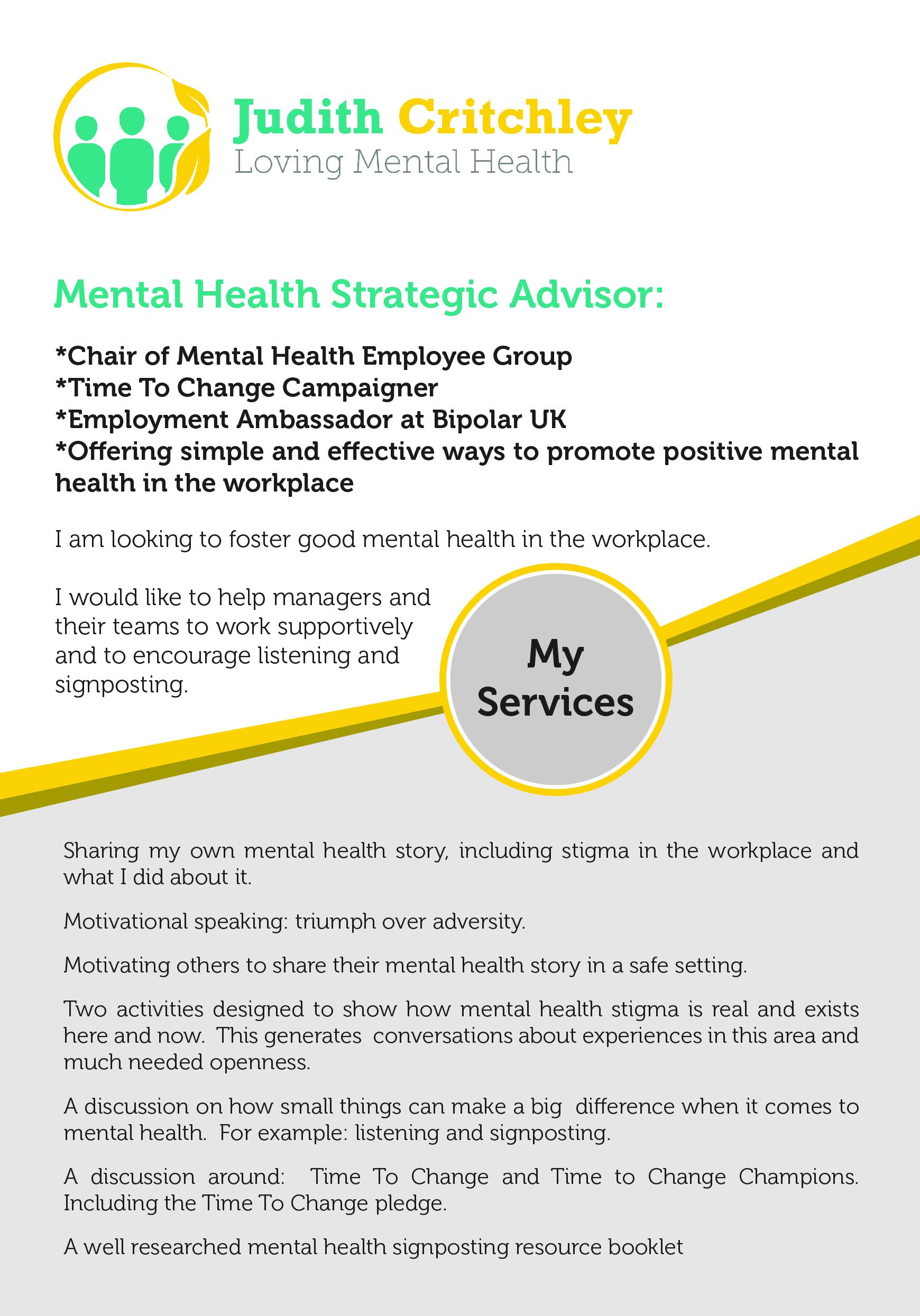 Loving Mental Health We All Have Mental Health